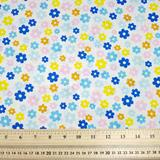 Flowers - Multi - Polycotton