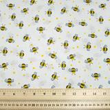 Bees - Multi - Polycotton