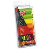 Gutermann Sew All Thread Set 7 x 100m Neon