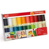 Gutermann Sew All Thread Set 20 x 100m