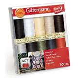 Gutermann Sew All Thread Set 10 x 100m Basics