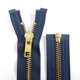 YKK Open Ended Brass Zips